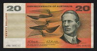 Australia R-402.  (1967) 20 Dollars - Coombs/Randall.. 1st Prefix XBQ.. aVF-VF