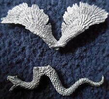 1985 C29 monster coatl flying serpent donjons & dragons citadel couatl serpent gw