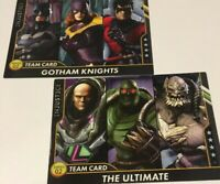 Team Cards Injustice Series 2 Arcade Game Gotham Knights The Ultimate NonFoil