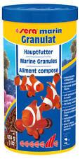 1 Liter Sera Marin Granulat Hauptfutter für Meerwasserfische mit Krill 1000 ml