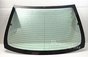 Fit 2009-2013 Toyota Corolla Sedan Rear Back Window Glass Heated w/ Antenna