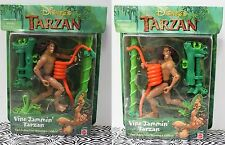 VARIANT SET Vine Jammin' Tarzan Snake Action Figure Disney Toys Movie Mattel NEW