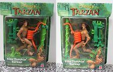 VARIANT SET Vine Jammin' Tarzan Snake Action Figure Disney Toys Movie Mattel NEW