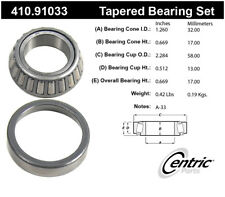 Wheel Bearing and Race Set-w/o ABS Centric 410.91033