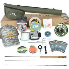 Maxcatch V-feather 6'/6'6''/7'/7'6'' 1-3wt Fly Rod and Reel Combo outfit