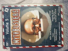 MYTHBUSTERS VOLUME 5,JAMIE HYNEMAN ADAM SAVAGE, DVD E R4