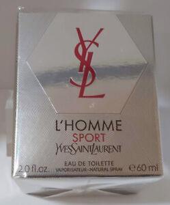 "❤️Yves Saint Laurent  L'Homme SPORT EDT 60ml / 2oz 2014"" FIRST FORMULA!"