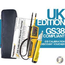Di-Log DL6780 Voltaje y Continuidad Probador KIT4 Con Estuche Y Voltstick audible