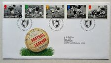 SOCCER - Royal Mail First Day Cover - 14th MAY 1996 - Legends of Football UK