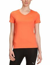 Puma Essential  T Shirt Women Coral Pink Size 12 Bargain £6.99 Free Postage