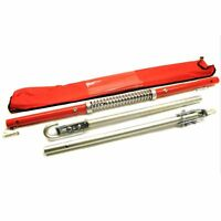 2 Ton Rigid Steel Towing Tow Bar Pole with Spring Damper Car Van TH118