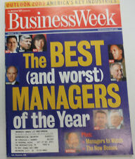 Businessweek Magazine The Best And Worst Managers January 2003 071015R