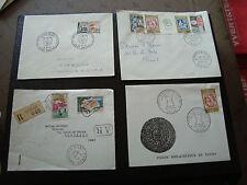 FRANCE - 4 enveloppes 1964 (cy66) french
