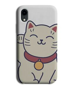 Chinese Waving Cat Phone Case Cover Cats Picture Maneki Neko Japanese J648