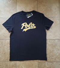 Polo Ralph Lauren Script Spell Out Logo T Shirt CP 93 Stadium P wing sz Large