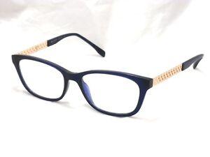 Bulget Occhiali 4070 Women's Eyeglasses Frame. T01 Blue / Gold 54-17-145 #F83