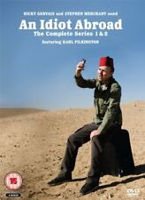 An Idiot Abroad -Complete Series 1 And 2 - 4 DVD Box Set Karl Pilkington NEW