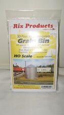Rix Products HO Scale 33' Tall Corrugated Grain Bin Kit Item #628-0304 New