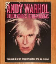 ANDY WARHOL: Other Voices, Other Rooms - Wexner Center For The Arts 2008-2009