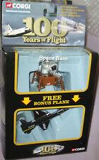 2003 Corgi 100 Years of Flight 2pk Space Race Lunar Module Eagle & X-15 1-187