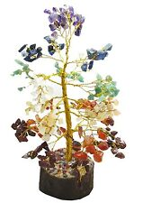 Multi Stone Money Tree Reiki Feng Shui Gems Spiritual Vastu Table Decor