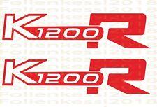 """K1200R 2 Aufkleber 170 mm """"30 Farben""""  BMW Motorsport Fahrer BMWM 011"""