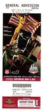 2015 SIMON PAGENAUD signed GRAND PRIX OF INDIANAPOLIS TICKET STUB INDY CAR 500 b
