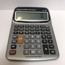 Calculated Industries 44080 Construction Master Pro-Desktop Advanced Math V3.1