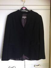 NEXT LADIES STANDARD FIT BLACK SUIT DRESS SMART WOOL MIX JACKET SIZE 12