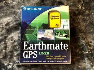 Delorme Earthmate GPS Navigator LT-20 w/ Street Atlas Software PC NEW