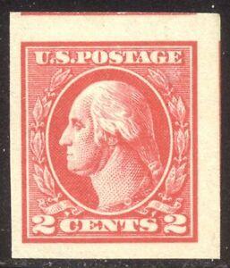 U.S. #533 Mint VF NH - 2c Carmine, Type V ($175)