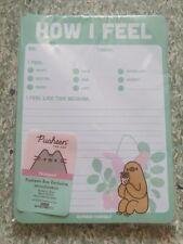 Pusheen How I Feel Notebook