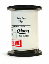 """Chromium Resistance Wire, 1000ft Reel, 32 Gauge SWG - 33/34 AWG - 0.0108"""" Dia."""