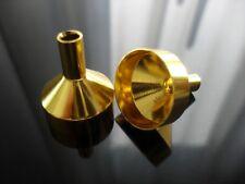 1 x kleiner Mini Trichter Metalltrichter gold Parfüm Liquid Nachfülltrichter