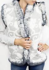 Winter Vest Jacket Coat Sleeveless Super Warm Sheepskin Sheep Wool Soft Womens
