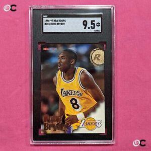 1996-97 Hoops #281 Kobe Bryant RC SGC 9.5
