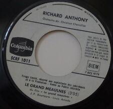 RICHARD ANTHONY LE GRAND MEAULNES RARE PROMO JUKE BOX FRENCH SP COLUMBIA 1967