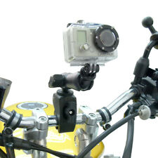 Tough-Claw Handlebar Mount & Standard Double Socket Arm for GoPro Hero Camera