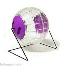 LARGE HAMSTER EXERCISE / PLAYBALL ON A STAND