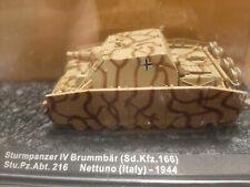 DeAgostini tanks New Still In Box Sturmpanzer 1V Brummbar Italy 1944