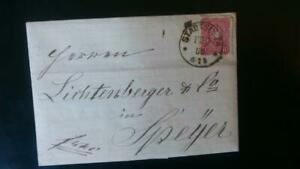 German Vintage Letter circulated in 1880