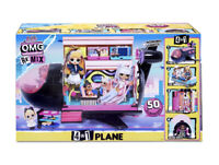 New! LOL Surprise OMG Remix 4-in-1 Plane Playset Transforms with 50 Surprises