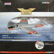 CORGI - HAWKER HUNTER T.7 234 SQN RAF CHIVENOR early 1960's  -1:72 -LTD EDITION