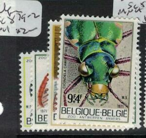 Belgium Insects SC 879-82 MNH (2efx)