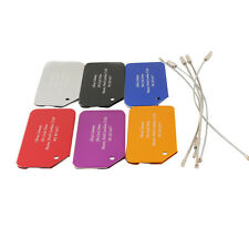 Personalized Luggage Tag Label Travel Suitcase Baggage Bag Address Holder Gift