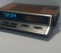 Vintage GE General Electric 74666A AM FM Alarm Clock Radio Tested Works Original