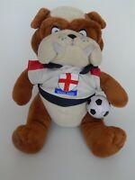 "England Football Mascot Bulldog soft toy 12"" - Posh Paws"