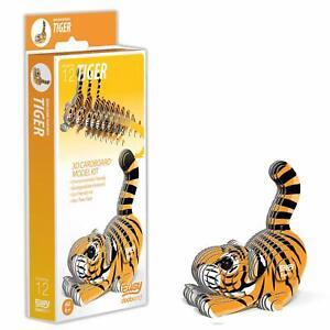 EUGY Tiger 3D Craft Kit