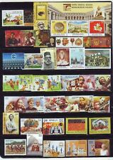 India 2014  Year Pack Full Complete Set of 36 stamps Assorted themes MNH