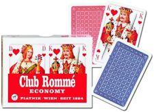 Piatnik - Set 2 mazzi di carte da ramino nuovo con scatola